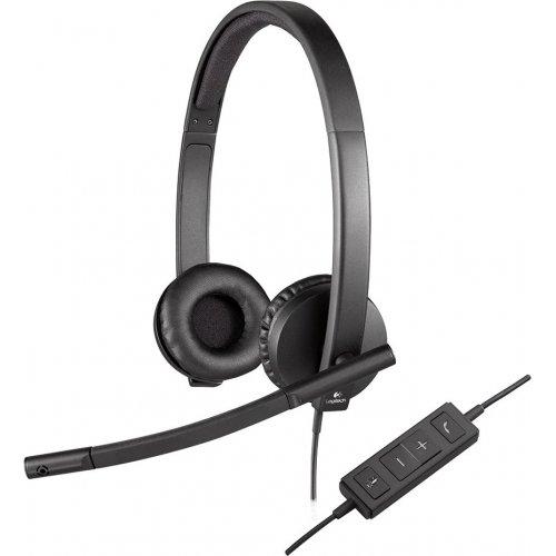 Купить Наушники, Logitech H570e (981-000575) Black