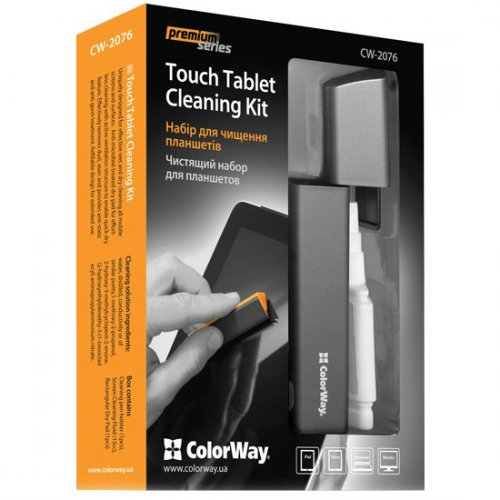 Фото Набор для чистки ColorWay Premium Touch Tablet Cleaning Kit (CW-2076)