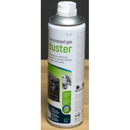 Фото Сжатый воздух/газ ColorWay Compressed Gas Duster 500ml (CW-3333)