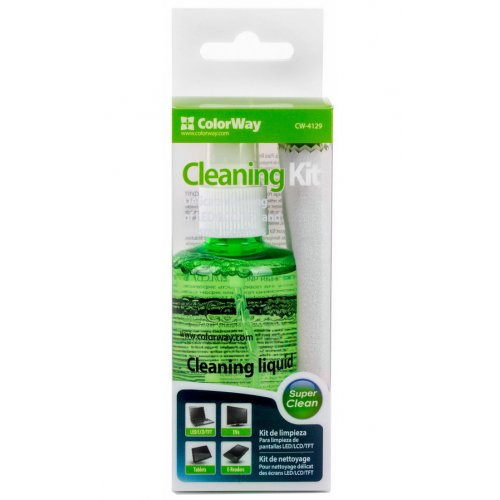 Фото Набор для чистки ColorWay 2 in 1 Cleaning Kit 100ml (CW-4129)