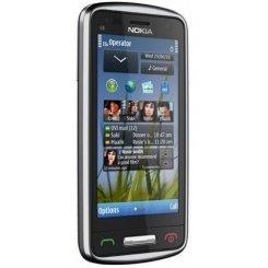Фото Мобильный телефон Nokia C6-01 Silver