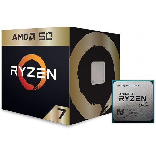 Фото Процессор AMD Ryzen 7 2700X Gold Edition 3.7(4.35)GHz 20MB sAM4 Box (YD270XBGAFA50)