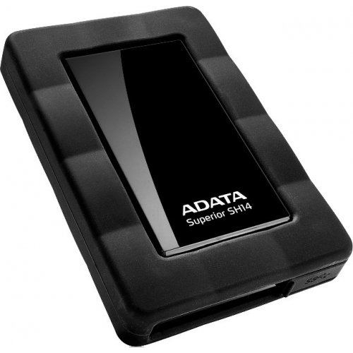 Фото Внешний HDD ADATA 500GB ASH14-500GU3-CBK Black