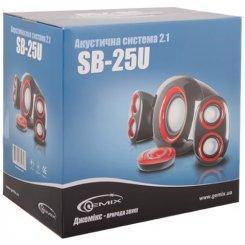 Фото Акустическая система Gemix SB-25U Black/Red