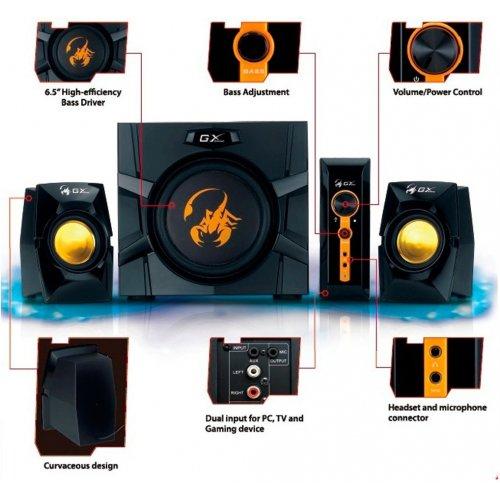 Фото Акустическая система Genius SW-G2.1 3000 Black