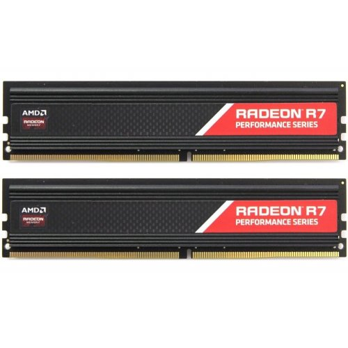 Фото ОЗУ AMD DDR4 16GB (2x8GB) 2400Mhz Radeon R7 Performance (R7S416G2400U2K)