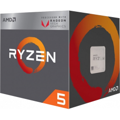 AMD Ryzen 5 3400G 3.6(4.2)GHz 4MB sAM4 Box (YD3400C5FHBOX)