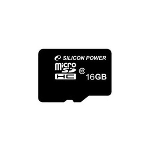 Фото Карта памяти Silicon Power microSDHC 16GB Class 10 (без адаптера) (SP016GBSTH010V10)