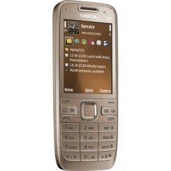 Фото Мобильный телефон Nokia E52-1 Golden Aluminium
