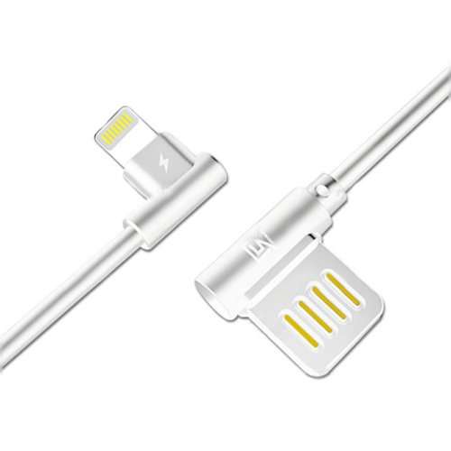 Фото USB Кабель Remax Axe USB to Lightning 1.2m 2.1A Data/Charge (RC-083I1.2m-White) White