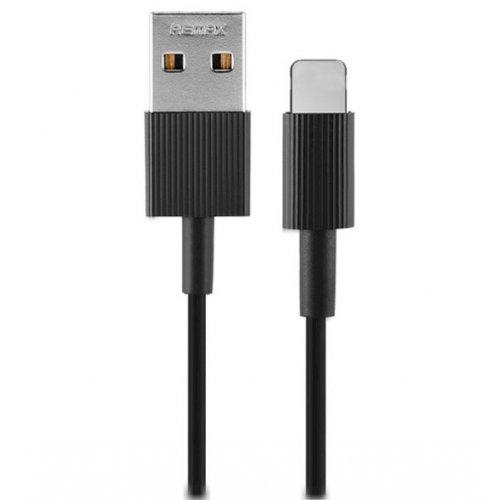 Фото USB Кабель Remax Chaino Series USB to Lightning 1m 2.4A Data/Charge (RC-120I-Black) Black