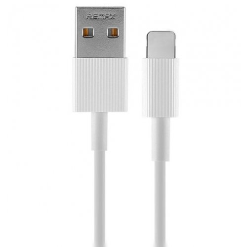 Фото USB Кабель Remax Chaino Series USB to Lightning 1m 2.4A Data/Charge (RC-120I-White) White