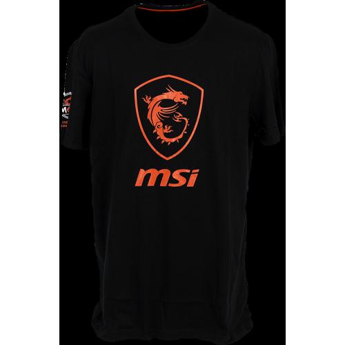 Фото Футболка MSI True Gaming Shield T-shirt S Black