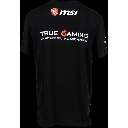 Фото Футболка MSI True Gaming Shield T-shirt M Black