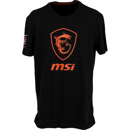 Фото Футболка MSI True Gaming Shield T-shirt L Black