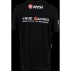 Фото Футболка MSI True Gaming Shield T-shirt XL Black