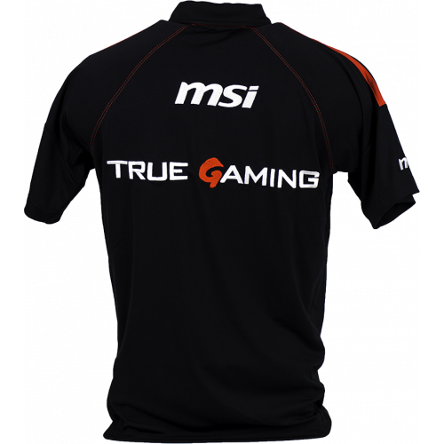 Фото Тенниска MSI True Gaming Polo M Black