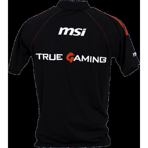 Фото Тенниска MSI True Gaming Polo XL Black