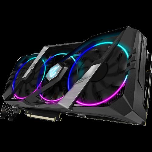 Фото Видеокарта Gigabyte GeForce RTX 2060 SUPER AORUS 8192MB (GV-N206SAORUS-8GC)