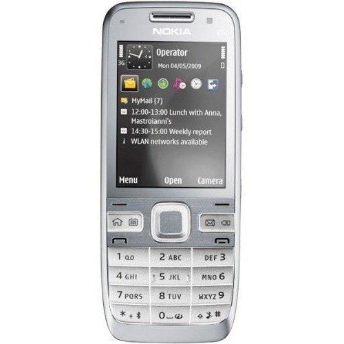 Фото Мобильный телефон Nokia E52-1 White Aluminium