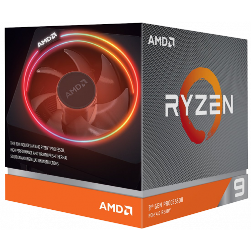 Фото Процессор AMD Ryzen 9 3900X 3.8(4.6)GHz 64MB sAM4 Box (100-100000023BOX)
