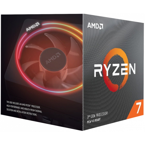 Фото AMD Ryzen 7 3800X 3.9(4.5)GHz 32MB sAM4 Box (100-100000025BOX)