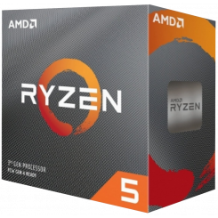 AMD Ryzen 5 3600X 3.8(4.4)GHz 32MB sAM4 Box (100-100000022BOX)