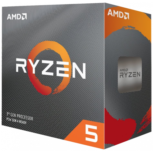 Фото Процессор AMD Ryzen 5 3600 3.6(4.2)GHz 32MB sAM4 Box (100-100000031BOX)