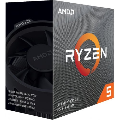 Фото AMD Ryzen 5 3600 3.6(4.2)GHz 32MB sAM4 Box (100-100000031BOX)