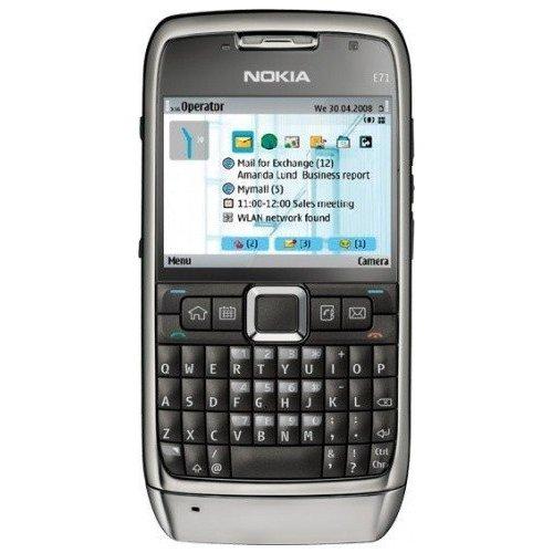Фото Мобильный телефон Nokia E71-1 Gray Steel