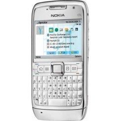 Фото Мобильный телефон Nokia E71-1 White Steel