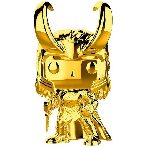 Funko Pop! Марвел: Золотой хром: Локи (33435)