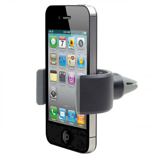 Фото Автодержатель Gembird Air vent mount for smartphone up to 6