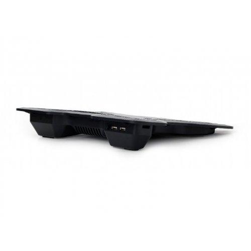 Фото Подставка для ноутбука Gembird NBS-1F15-02 Black