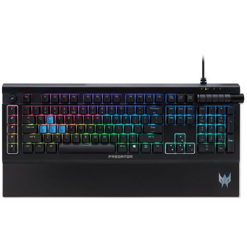Фото Клавиатура Acer Predator Aethon 500 RGB Kailh Blue Switch (NP.KBD1A.01Q) Black