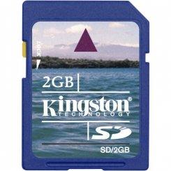 Фото Карта памяти Kingston SD 2GB