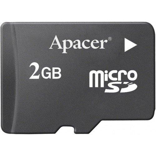 Фото Карта памяти Apacer microSD 2GB