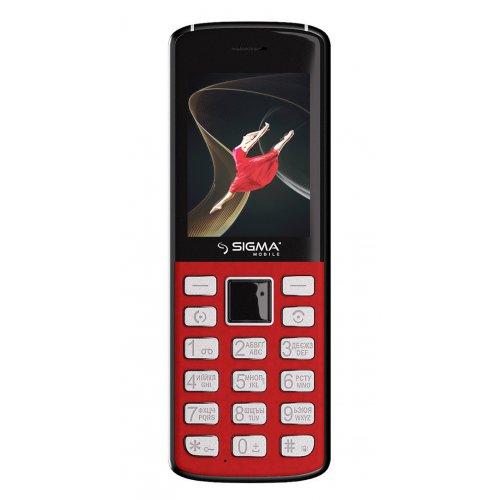 Фото Мобильный телефон Sigma mobile X-Style 24 Onyx Red