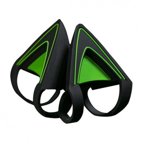 Фото Игровые наушники Razer Kitty Ears for Razer Kraken Green Edition (RC21-01140200-W3M1)