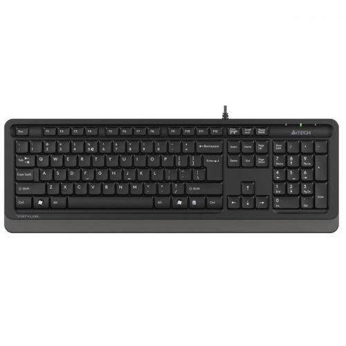 Купить Клавиатуры, A4Tech Fstyler FK10 Sleek Media Comfort Black/Grey
