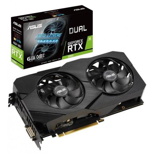 Фото Asus GeForce RTX 2060 Dual Evo 6144MB (DUAL-RTX2060-6G-EVO)