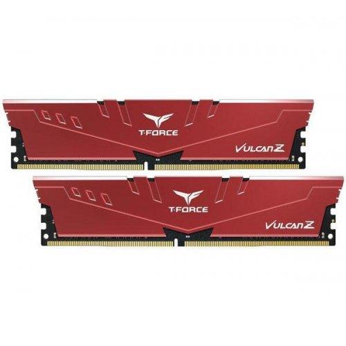 Фото ОЗУ Team DDR4 16GB (2x8GB) 3200Mhz T-Force Vulcan Z Red (TLZRD416G3200HC16CDC01)