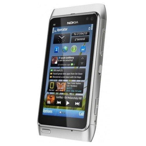 Фото Мобильный телефон Nokia N8-00 Silver White