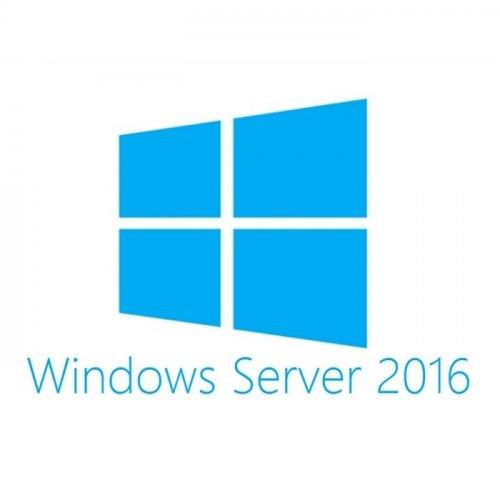 Фото Операционные системы Microsoft Windows Server 2016 (16-Core) Standard Reseller Option Kit English SW (P00487-B21)
