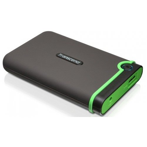 Фото Внешний HDD Transcend StoreJet 25M3 500GB (TS500GSJ25M3) Black/Green