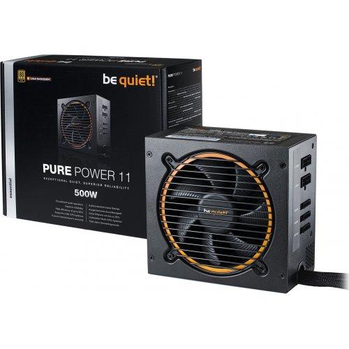 Фото Блок питания Be Quiet! Pure Power 11 500W CM (BN297)
