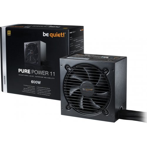 Фото Блок питания Be Quiet! Pure Power 11 600W (BN294)