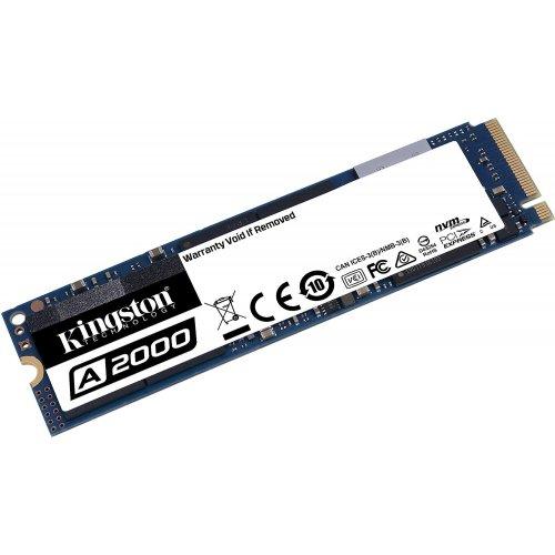 Фото SSD-диск Kingston A2000 3D NAND 500GB M.2 (2280 PCI-E) NVMe x4 (SA2000M8/500G)