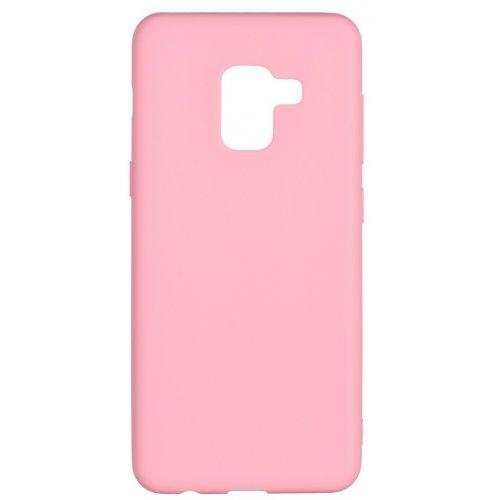 Купить Чехлы, 2E Basic для Samsung Galaxy A8 2018 (A530) Soft touch (2E-G-A8-18-NKST-PK) Pink