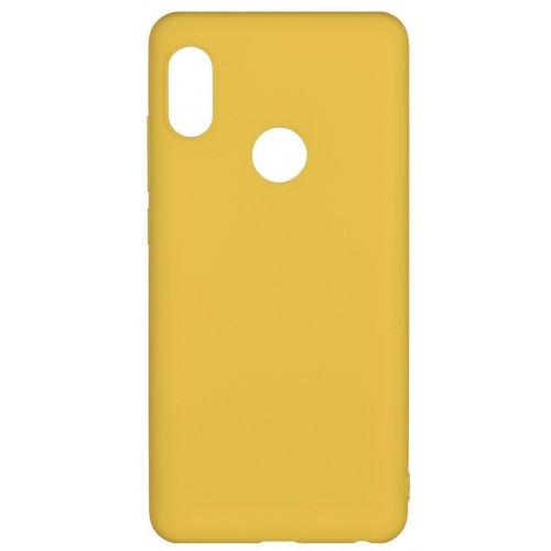 Фото Чехол 2E Basic для Xiaomi Redmi Note 5 Soft touch (2E-MI-N5-NKST-MS) Mustard